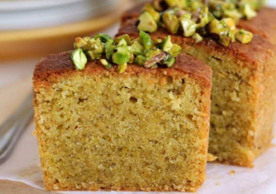 Pistachio Brown Butter Cake