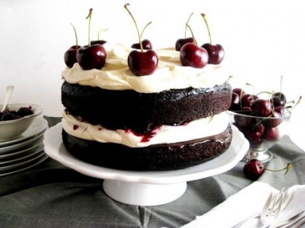 White Forest Cake Recipe From Scratch