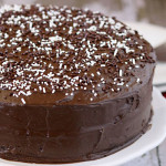 "The ""no messing about"" Cocoa Chocolate Cake"