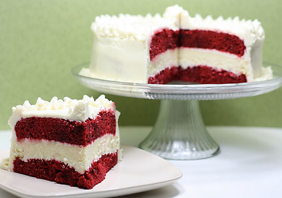 Better than Cheesecake Factory Red Velvet Cheesecake - Recipe