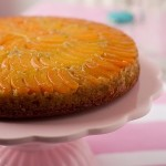 Apricot and Pistachio Upside-Down Cake