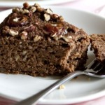 Dark Chocolate Date Cake with Pecans (Gluten Free)