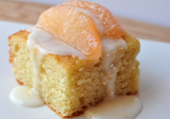 Grapefruit Sponge Cake Recipe