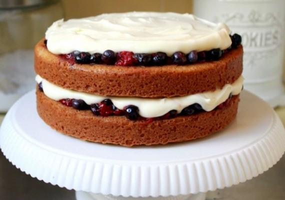 Lemon Berry Shortcake