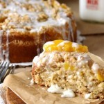 Peaches and Cream Coffee Cake