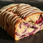Plum Cake with White Chocolate Frosting