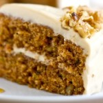 Zucchini Carrot Cake with Maple Brown Sugar Frosting
