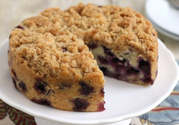 Blueberry Cake Recipes - Blueberry Buckle Cake - Recipe