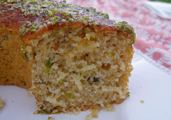Lemon Pistachio Cake - Recipe - The Answer is Cake