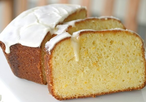 Cake And Loaf Recipes: Orange Sour Cream Loaf Cake • The Answer Is Cake