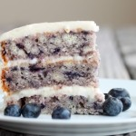 Blueberry Cake with Light Lemon Icing