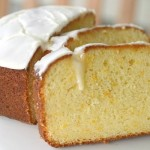 Orange Sour Cream Loaf Cake