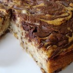 Marble Cake: Banana Cake with Chocolate