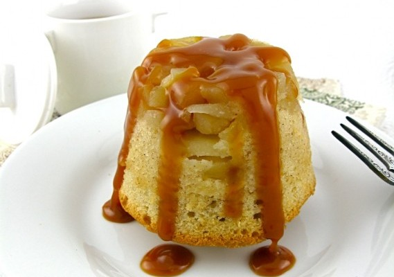 Individual Apple Upside-down Cakes