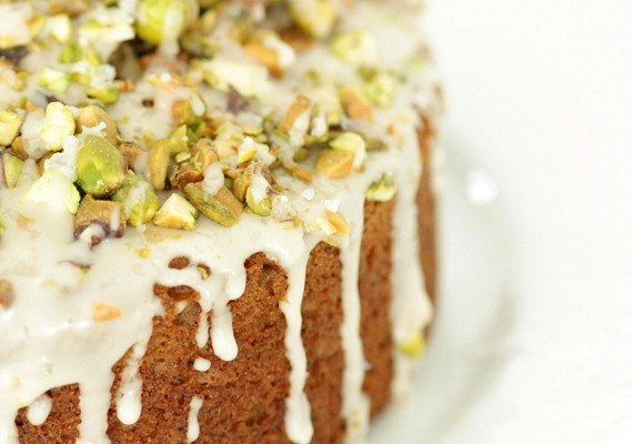 Chai & Salted Pistachio Morning Cake