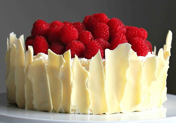 Chocolate Raspberry Cake Decoration : Lemon Raspberry Cake - Recipe - The Answer is Cake