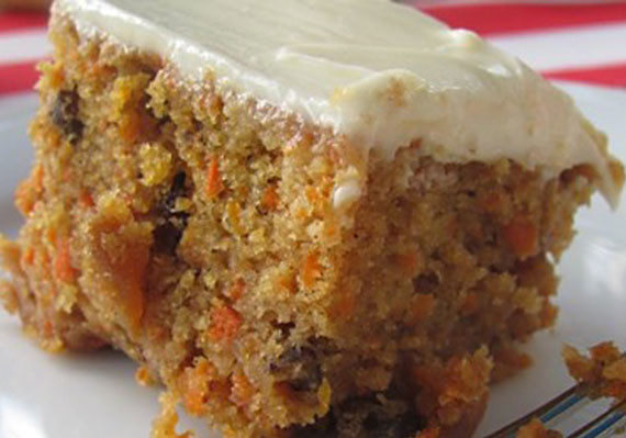 Carrot Walnut Cake Eggless