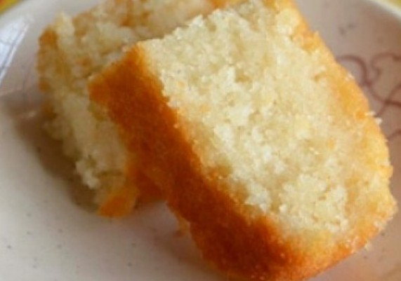 Eggless Plain Vanilla Sponge Cake Recipe