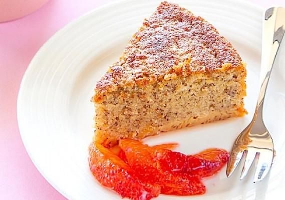 Flourless Blood Orange Cake