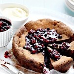 Mixed Berry Chocolate Cake