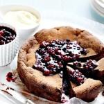Mixed Berry Chocolate Cake