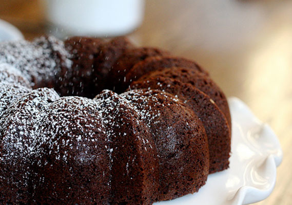 Chocolate Bundt Cake With Box