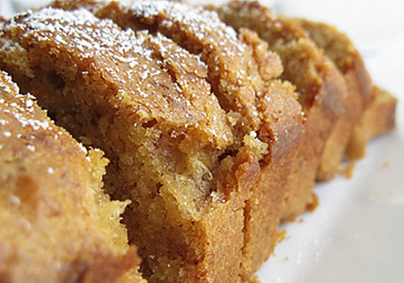 Caramelised Banana Cake