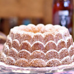 Coconut Oil Cake - Vanilla Orange Bundt Cake with Coconut Oil
