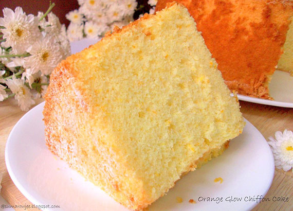 Orange Chiffon Cake - Recipe - The Answer is Cake