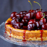 Balsamic Cherry Cheesecake Recipe