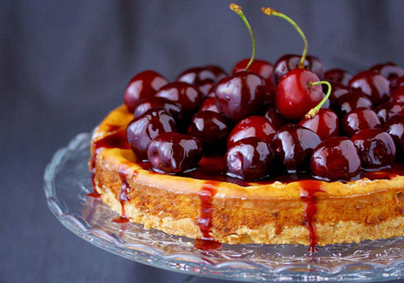 Balsamic Cherry Cheesecake Recipe