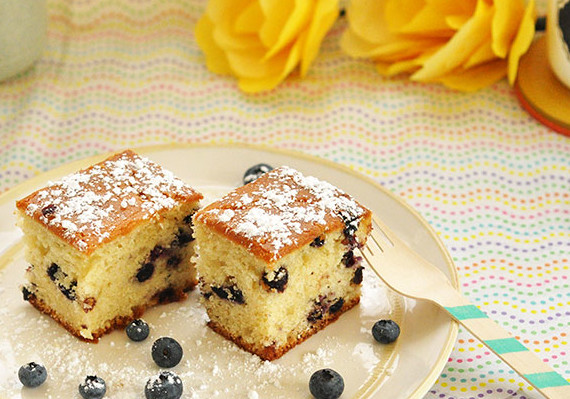Blueberry Tea Cake - Recipe - The Answer is Cake
