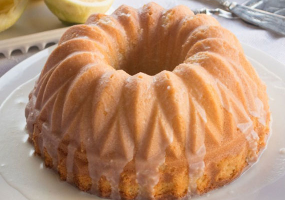 Lemon Bundt Cake from Scratch