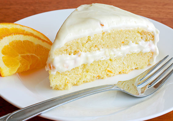 Moist Orange Cake - Recipe - The Answer is Cake