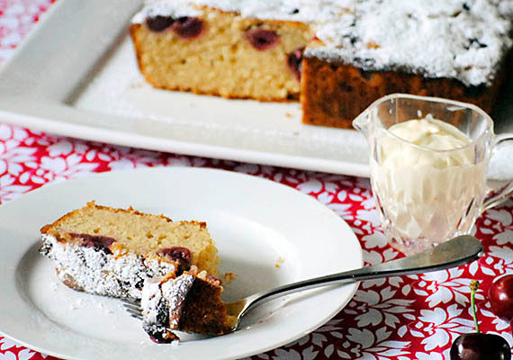 Morello Cherry Cake