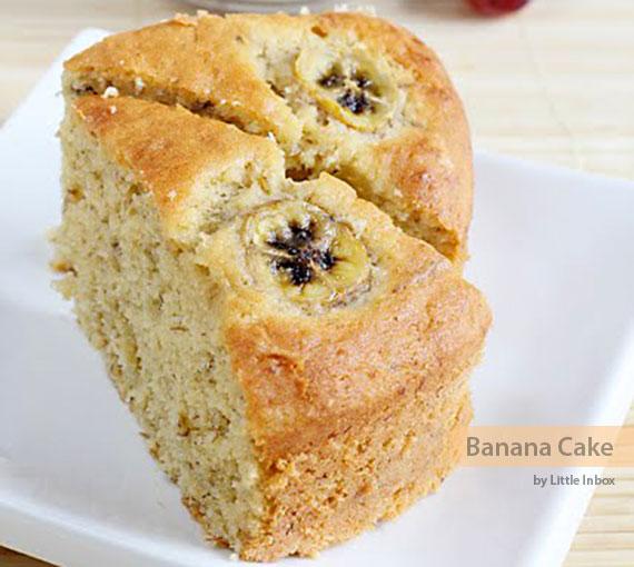 Recipe banana cake no sugar