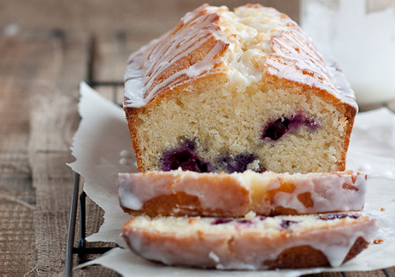 Blueberry Lemon Drizzle Cake - Recipe - The Answer is Cake