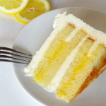 Lemon Cake with Lemon Curd Filling