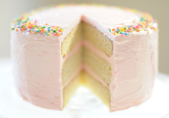 Pink Birthday Cake Recipe The Answer is Cake