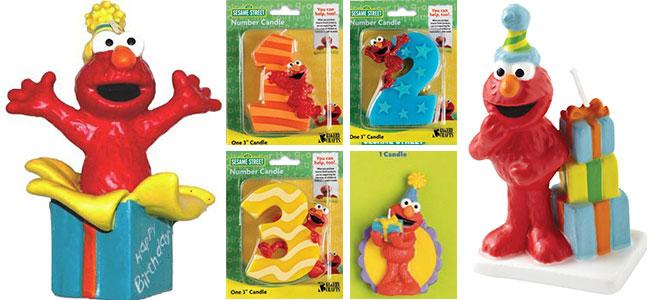 Elmo-Candle