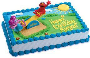 Elmo Playground Cake Decoration