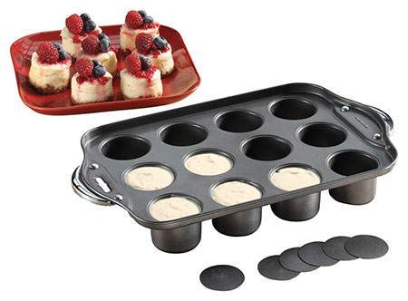 Walter-Drake-Non-Stick-Mini-Cheesecake-Pan