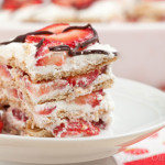 Strawberry Icebox Cake - a totally fuss-free recipe