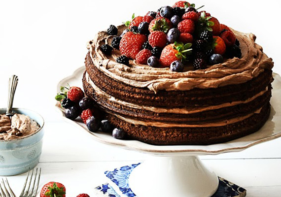 Chocolate Birthday Cake - Recipe - The Answer is Cake