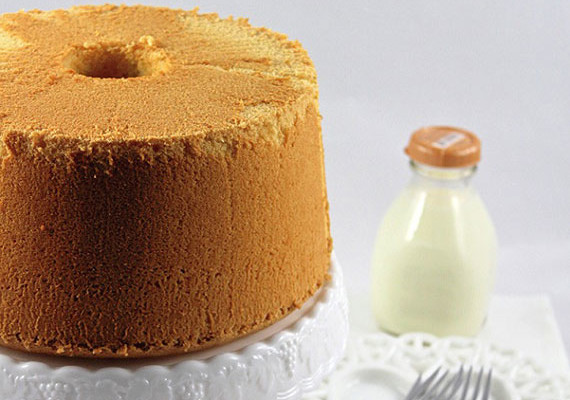 Lemon Chiffon Cake - Recipe - The Answer is Cake
