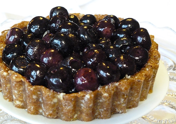 Healthy-Blueberry-Tart