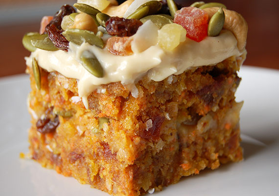 Healthy Sugar Free Carrot Cake