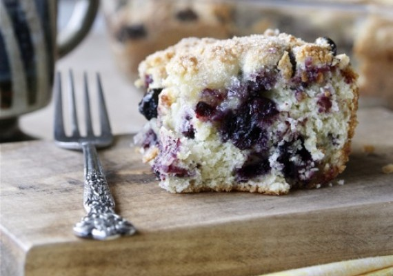 Blueberry muffins cake recipe