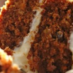 Just Carrot Carrot Cake - not nuts or pineapple included