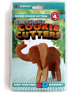 3D cookie cutters Elephant